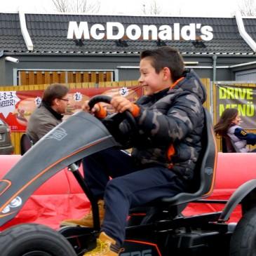 Gokart-Parkours: McDonalds Hannover